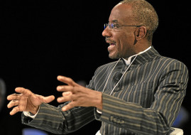 Nigerian Central Bank Governeor, Sanusi Lamido Sanusi.   (Image Credit: World Economic Forum)