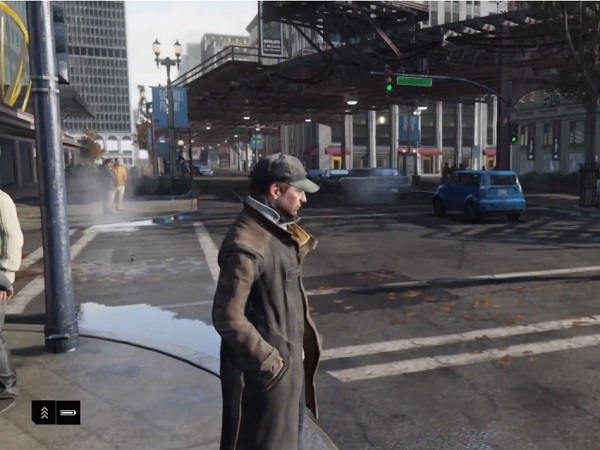 A screenshot from Watch Dogs (image: Ubisoft)