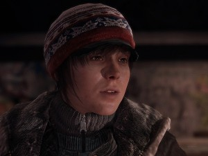 The plot is a complex structure of going back and forth in Jodie's life - even as a homeless person (image: SCE)