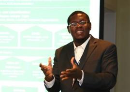 Bright Simons, social innovator, entrepreneur, writer and researcher in Ghana (image: Wikimedia)