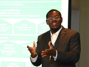 Bright Simons, social innovator, entrepreneur, writer and researcher in Ghana (image: Wikimedia)