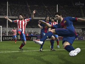 A screenshot of FIFA 14 (image: EA)