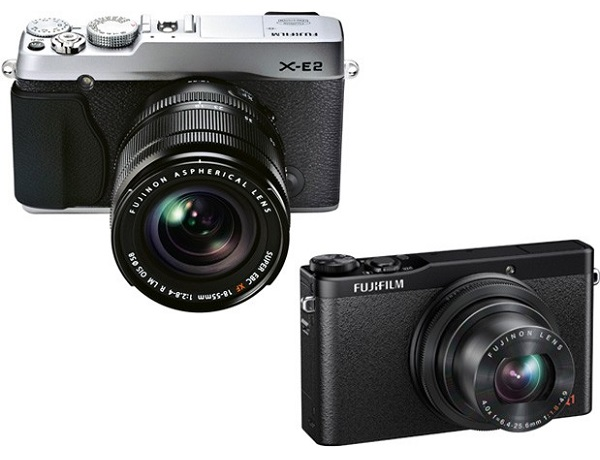 Fujifilm announced the launch of their X-E2 interchangeable lens camera (image: Fujifilm)