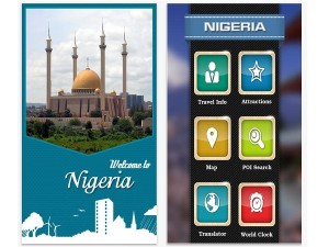 A screenshot of Nigeria Essential Travel Guide (image: Apple)