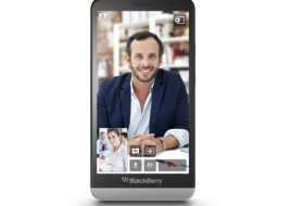 The new BlackBerry Z30 smartphone (image: BlackBerry)