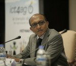 Michael Hailu, Director of the Technical Centre for Agricultural and Rural Cooperation (CTA) at ICT4Ag (image: CTA)