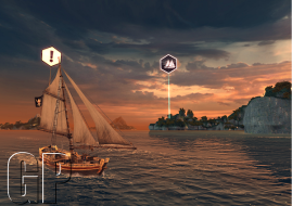 A screenshot of Assassin's Creed Pirates (image: Games Press)
