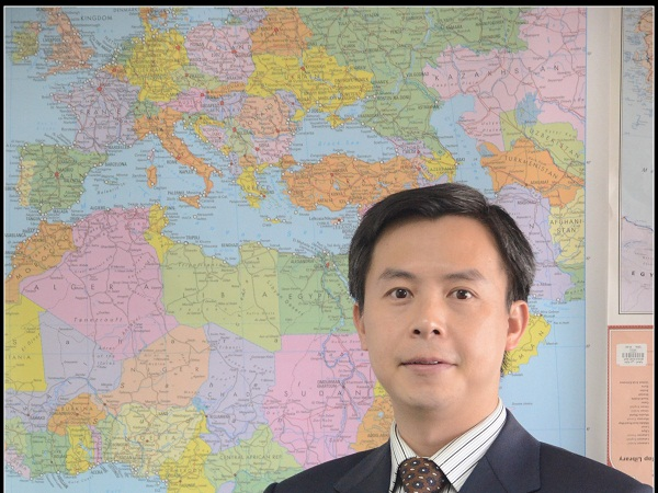 Wilson Liu, Huawei South Africa's recently appointed CEO. (Image source: Huawei South Africa)