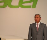 Acer announced the resignation of J.T. Wang, Chairman and CEO (image: Charlie Fripp)