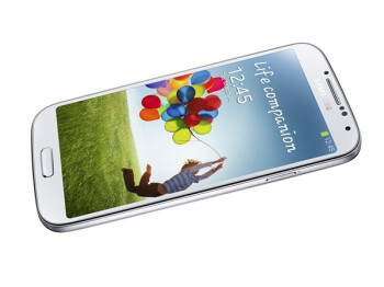 The Samsung Galaxy S4 (image: Samsung)