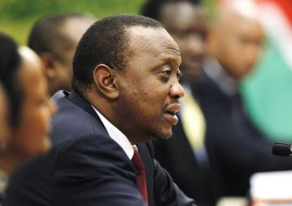 President of Kenya, Hon. Uhuru Kenyatta (image: REUTERS/How Hwee Young/Pool)