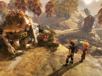 A screenshot of Brothers: A Tale of Two Sons (image: Xbox)
