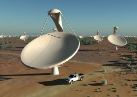 The teams, sourced globally, who will be responsible for the final design of the SKA have been announced. (Image source: SKA Organisation/Swinburne Astronomy Productions)