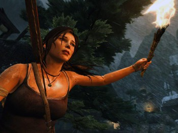 A screenshot of Tomb Raider (image: Digital Trends)