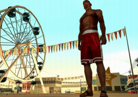 Rockstar has announced that their hugely-popular Grand Theft Auto: San Andreas console title is now available for iOS device (image: Rockstar)