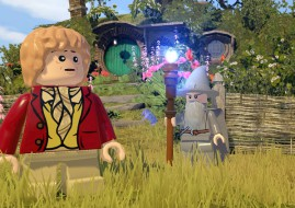 A screenshot from LEGO The Hobbit (image: Warner)