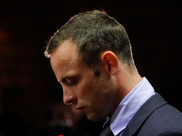 Oscar Pistorius during his bail hearing (image: file)