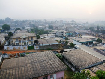 Yaounde' Cameroon. (Image source: Shutterstock.com)