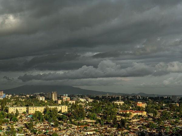 Addis Ababa, Ethiopia, stands to benefit from high speed 4G network installation. (Image source: Shutterstock.com)