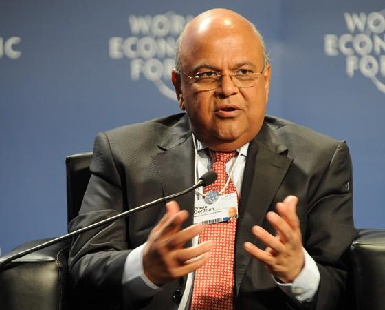 South Africa's Minister of Finance Pravin Gordhan (image: World Economic Forum)