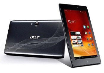 Acer has unveiled the new Iconia A1-830, a 7.9-inch Android tablet (image: Acer)