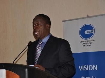 Cabinet Secretary - ICT, Dr Fred Matiang'i (image credit: CCK Kenya)