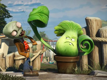 A screenshot from Plants vs. Zombies Garden Warfare (image: PopCap)