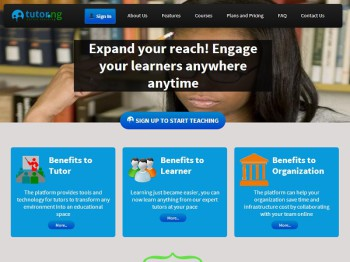 Exolve Technologies have launched an online teaching and learning platform designed to reach a larger audience (image: Tutor.NG)