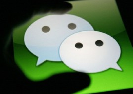 Social application WeChat has experienced a significant jump in popularity. (Image source: Google/technode.com)