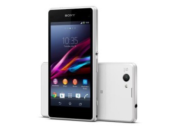 Sony Mobile Communications introduced the Xperia Z1 Compact (image: Sony)