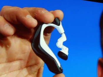 Intel's Smart Earbuds (image: file)
