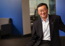 BlackBerry's Executive Chair and CEO, John Chen