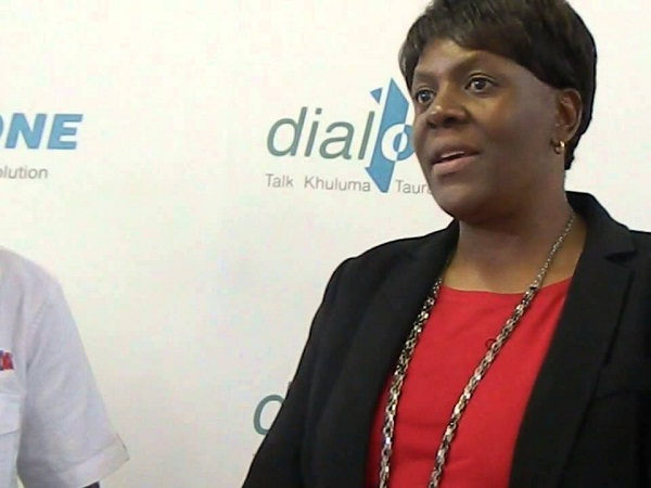 TelOne Managing Director Chipo Mtasa. (Image source: Youtube.com)