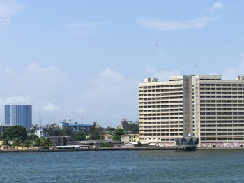 Lagos, Nigeria. Mobile operators are said to be under pressure from NATCOMS to compensate subscribers because of alleged poor quality of service. (Image source: Shutterstock.com)