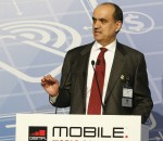Ahmad Abdulkarim Julfar, Chief Executive Officer of Etisalat Group and member of the GSMA Board, at the Mobile World Congress in Barcelona (image: GSMA)