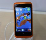 Firefox OS running on an ZTE smartphone (image: Charlie Fripp)