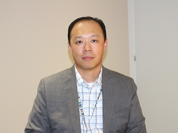 Ben Huang, Head of Global Marketing and Mediaroom Division at Ericsson (image: Charlie Fripp)