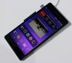 Sony's Z2 smartphone (image: Charlie Fripp)