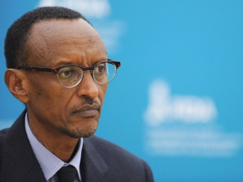 Rwandan President Paul Kagame (image: NPR)