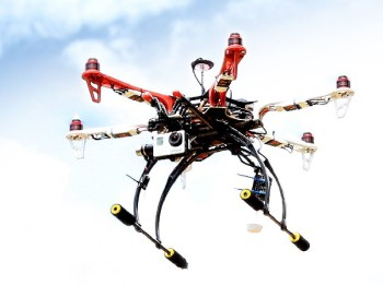 Drones are expensive, make sure you insure them and understand their limitations (image: JacarandaFM)