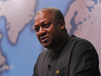 President of Ghana, John Dramani Mahama (image credit: Chatham House via Flikr)