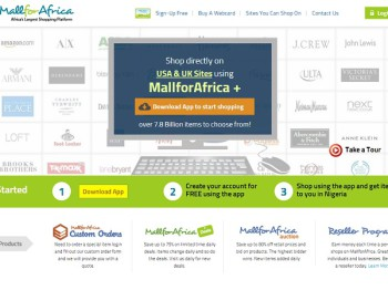 MallforAfrica enables retailers from the United States and United Kingdom to securely consumer products to millions of shoppers in Nigeria (image: MFA)