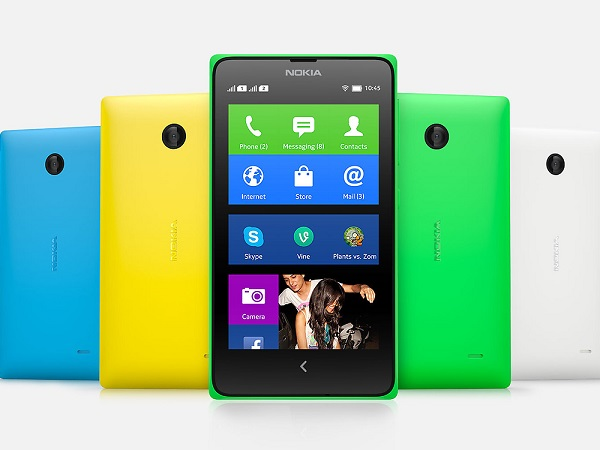 Nokia launched their first Android-based smartphone into the Kenyan market - the Nokia X (image: Nokia)