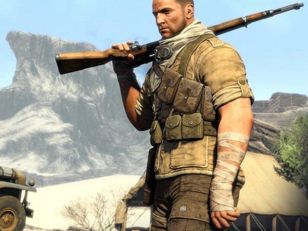 A screenshot from Sniper Elite 3 (image: Rebellion)