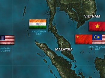 A number of nations are involved in searching for Malaysia's Flight 370 (image: Media Info)