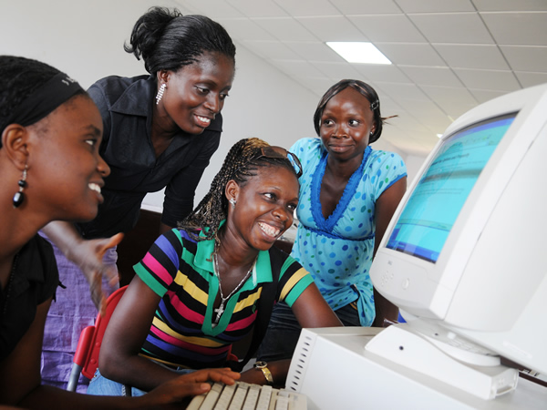 TVET colleges in South Africa will now receive internet and data networking services. (image credit: computer aid international)