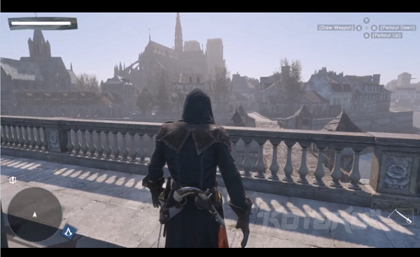 A leaked screenshot from the new Assassin's Creed title (image: Kotaku)