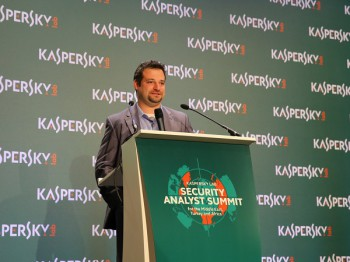 Kaspersky Lab's Sergey Novikov, Deputy Director of Global Research and Analysis (image: file)