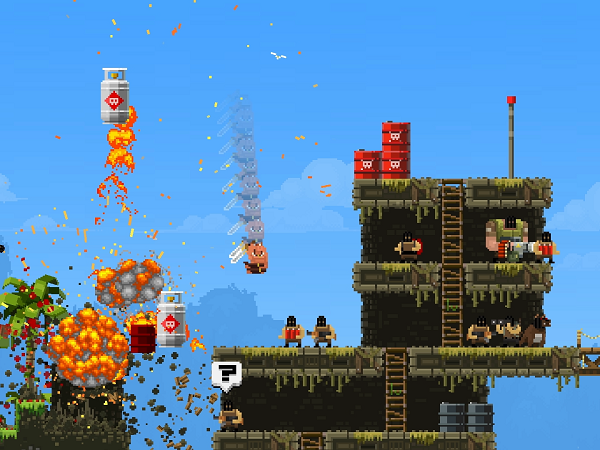 Broforce is now available Steam Early Access (image: Free Lives)