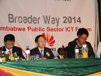 The Zimbabwe Public Sector ICT Forum was a joint initiative of the Ministry of Information Communication Technology, Postal and Courier Services and Huawei Technologies (image: supplied)
